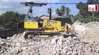 The Power Of The Bulldozer Komatsu D21A