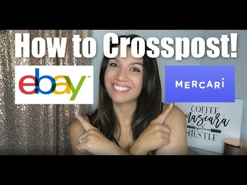 How to Crosspost from eBay to Mercari FAST!