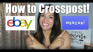 How to Crosspost fŗom eBay to Mercari FAST!