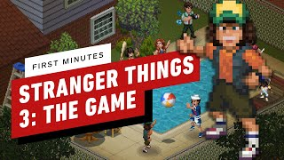 The First 15 Minutes of Stranger Things 3: The Game Gameplay