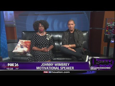 Motivational speaker Johnny Wimbrey says he was booted from restaurant because he's black