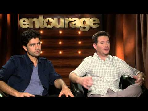 "Entourage: Kevin Connolly ""Eric"" &  Adrian Grenier ""Vince"" Official Movie Interview"