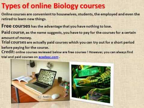 Best Free Online Biology Courses