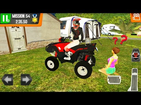Off-Road Motorbike and Quad Bike Driving - Beach Lifeguards Game - Android Gameplay