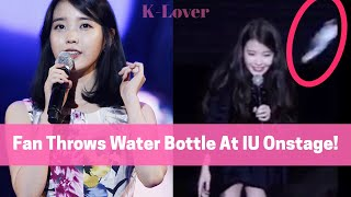 IU REACTION TO WATER INCIDENT