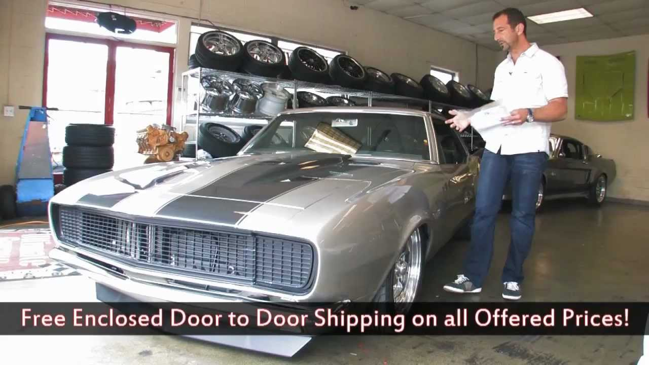 1967 Chevrolet Camaro RSSS Pro Touring For Sale With Test