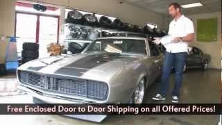 1967 Chevrolet Camaro RS/SS Pro Touring for sale with test drive, walk through video