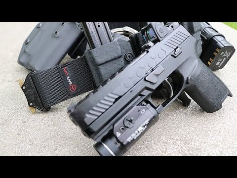 Setting Up A Molle DUTY BELT And VEST For Police Work