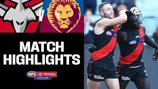 Walla Boots Seven | Essendon V Brisbane Highlights | Round 4, 2019 | Afl