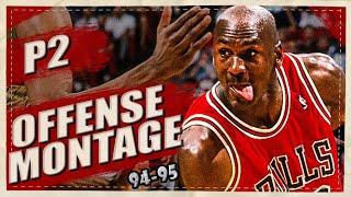 Michael Jordan CHRISTMAS SPECIAL Comeback Season Highlights Montages 1995 (Part 2) 1080p HD 60FPS