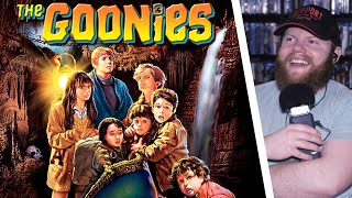 THE GOONIES (1985) MOVIE REACTION!! FIRST TIME WATCHING!