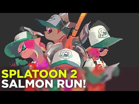 Simone, Allegra and Jeff play Splatoon 2