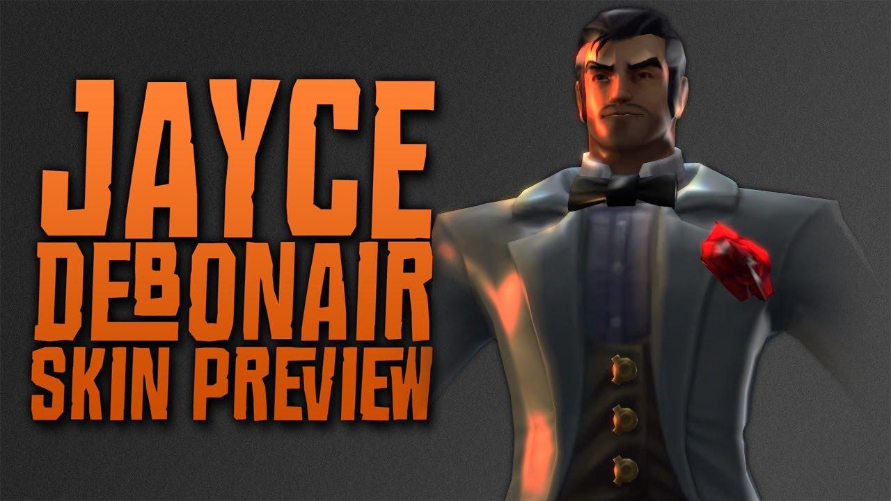 Debonair Jayce - Skin Preview (Pre-Release) - YouTube