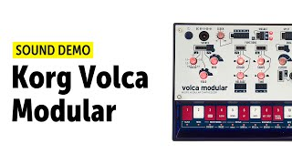 Korg Volca Modular Sound Demo (no talking)