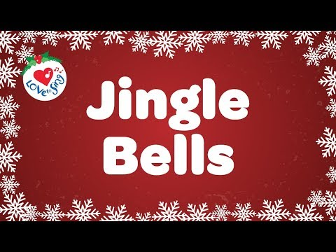 Jingle Bells with Lyrics  Kids Christmas Songs HD  Children Love to Sing