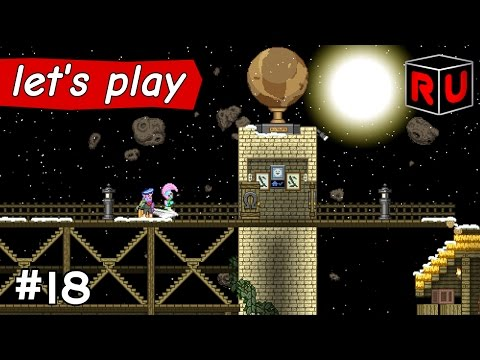 Bridge to the Edge of Forever | Let's play Starbound Asteroid Base ep 18
