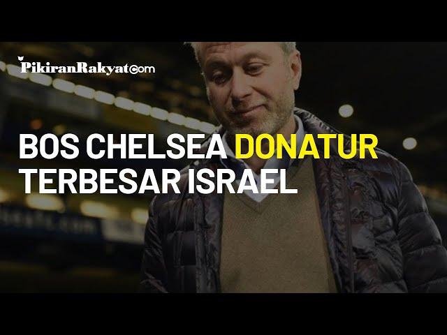 Terbongkar, Bos Chelsea Jadi Donatur Terbesar Israel dengan Sumbangan Ratusan Juta Dolar
