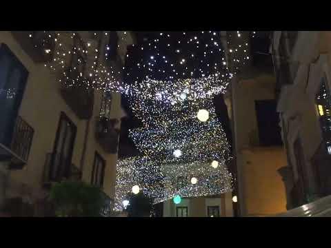Salerno: inaugurazione Luci D'Artista 2017/2108