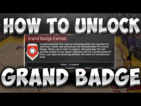 HOW TO UNLOCK THE SECRET NBA 2K17 BADGE!! SHOOT AT AN