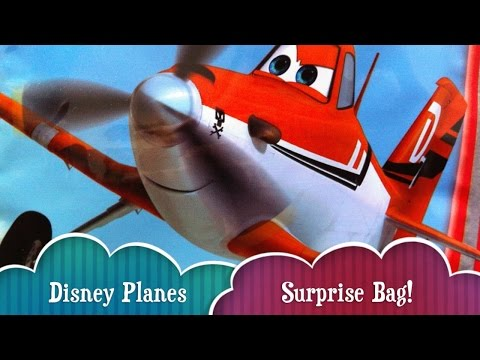 Disney Planes Surprise Bag Toy With Dusty Crophopper And Tons Of Stickers And Fun