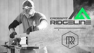 Building a Reclaimed Barn Wood Wall for Crossfit Ridgeline