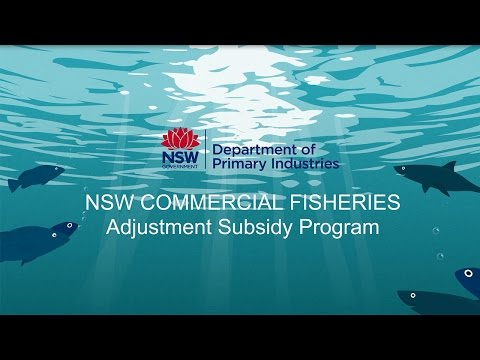 NSW Commercial Fisheries Adjustment Subsidy Program