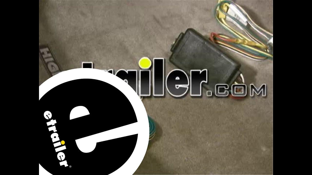 trailer wiring harness installation - 2010 toyota highlander - etrailer com
