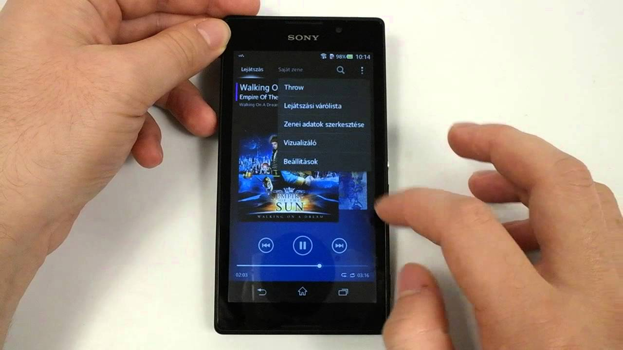 Sony Xperia C unboxing and hands-on - YouTube Xperia C Hands On