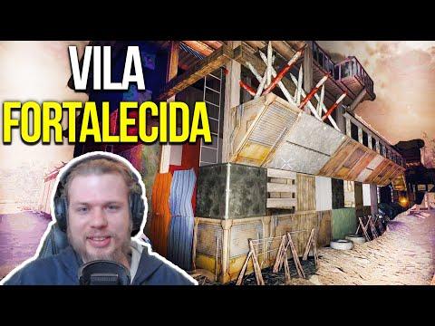 VILA ABANDONADA dos SOBREVIVENTES - 7 Days To Die