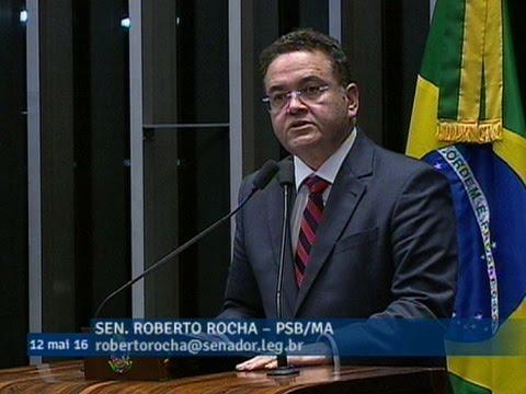 Roberto Rocha registra voto pela admissibilidade do processo de impeachment