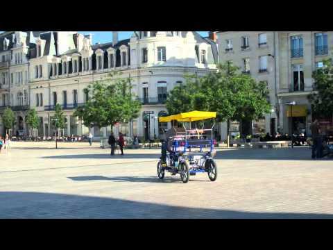 Poitiers, mai 2015, les rosalies à assistance électrique