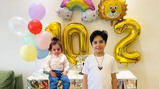 Sürpriz Doğum Günü Partisi! Happy Birthday Sado and Keremiko! Kids Birthday party with Mom