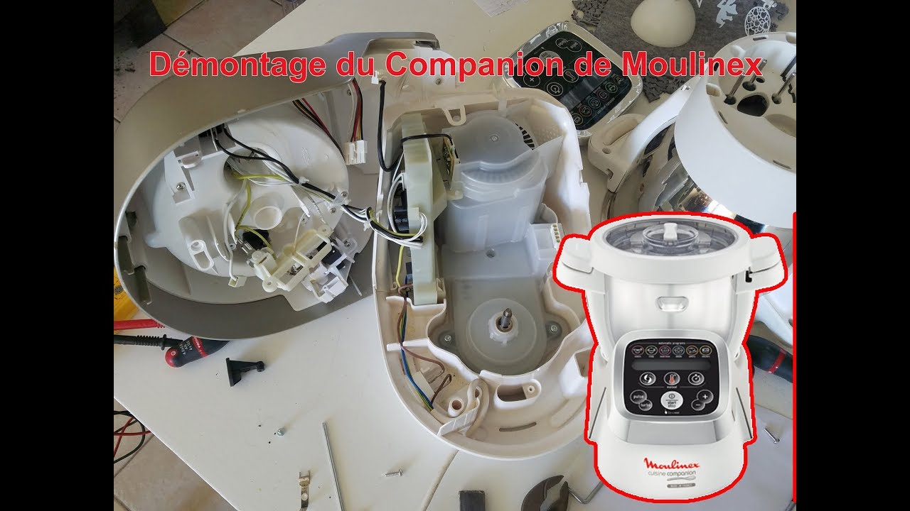 Démonter Companion Moulinex