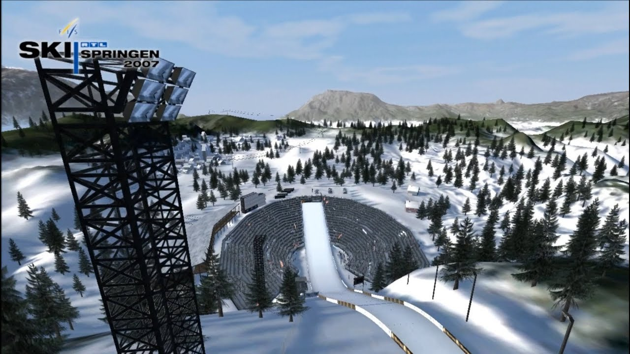 Skispringen Spiel