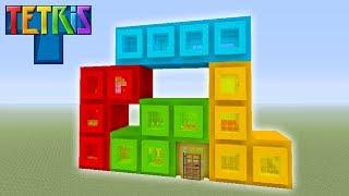 Minecraft Tutorial: How To Make A Tetris House