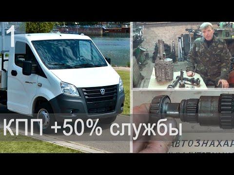 КПП Газель - модернизация  + 50% срок службы (изобретение) - Часть 1
