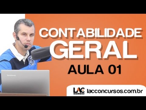 Aula 01/18 - Contabilidade Geral - Conceitos Básicos - Claudio Cardoso