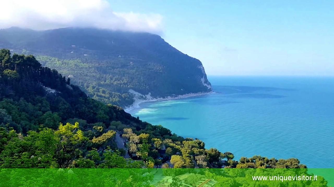 Cartina Conero Marche.I Percorsi Del Parco Del Conero Le Spiagge E Foto Della Riviera Del Conero