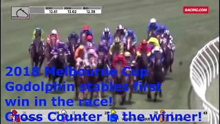 2018 Melbourne Cup, Godolphin Stable Wins for the 1st time.