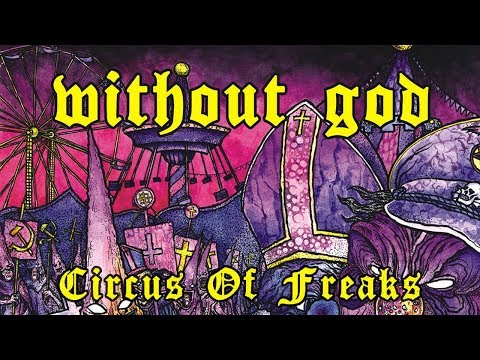 WITHOUT GOD - Circus Of Freaks (2014) Full Album Official (Sludge Doom Metal)