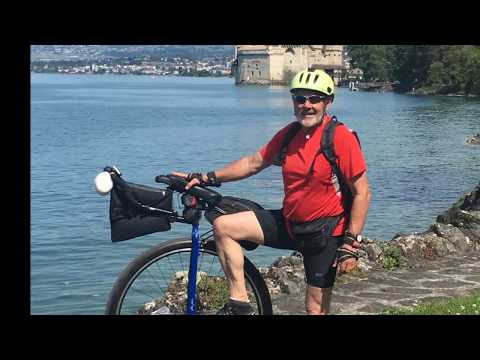 Rhone Cycle Route + Canal des 2 Mers, 2000 km by Unicycle / EuroVelo 17 / Via Rhona
