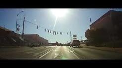 Driving through Campbellsville, Kentucky