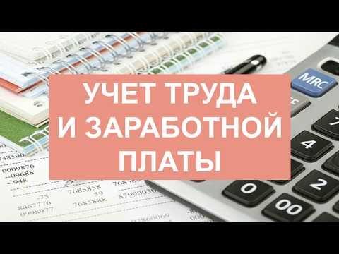 Бухгалтерский учет для начинающих   Бухучет   Бухгалтерия   Зарплата   Расчет зарплаты