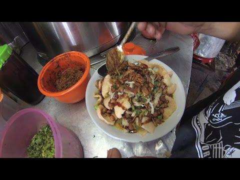 Indonesia Jakarta Street Food 1158 Part.1 Pekalongan Curry Porridge Depok Bubur Kuwah 5041