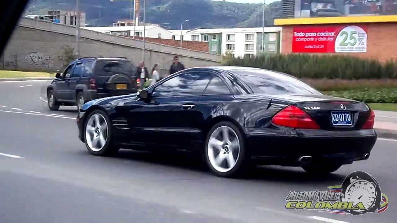Mercedes benz sl500 bogot colombia youtube for Mercedes benz colombia