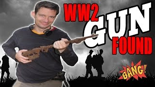 WW2 Gun Found in Berlin. BANG BANG BANG!!