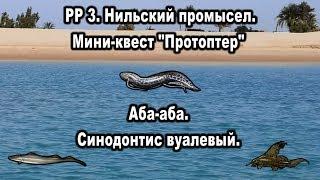 РР3 Нильский промысел Протоптер мраморный Аба аба Синодонтис вуалевый