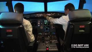 CPL students in A320: landing gear failure - Baltic Aviation Academy