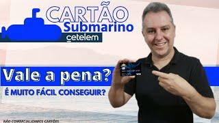 💳Cartão Submarino Cetelem é muito fácil? Super Limite,Bandeiras Master e Visa, vale a pena?🤔✔