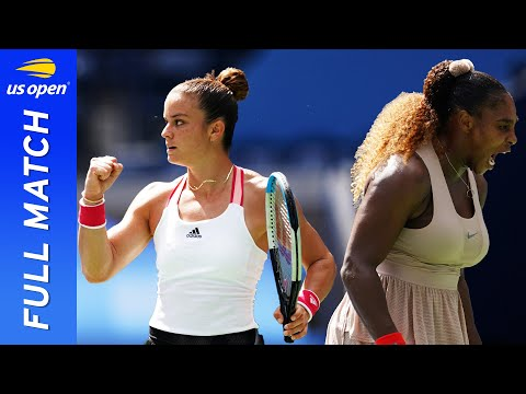 Maria Sakkari vs Serena Williams in a three-set rollercoaster! | US Open 2020 Round 4